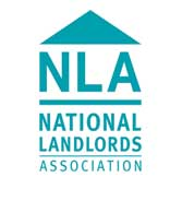 logo NLA used by SGF Lettings